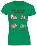 Women's: Pusheen- Holiday Cat Gifts T-Shirts