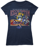Juniors: Led Zeppelin- The Song Remains the Same T-Shirts