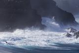 Ecuador, Galapagos Islands, Espanola, Punta Suarez. Rocky Coastline Photographic Print by Ellen Goff