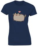 Juniors: Pusheen- Love Heart T-Shirt