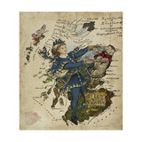 A Correct Outline of Scotland Giclee Print by Lilian Lancaster