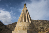 Lalish Capital of the Kurdish Sect of the Yazidis in Kurdistan, Iraq Photographic Print by Michael Runkel