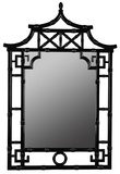 Pagoda Mirror Wall Mirror