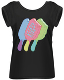 Juniors: All Time Low- Melting Popsicles Shirts