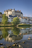 Early Morning Below Chateau D'Amboise, Amboise, Indre-Et-Loire, Centre, France Photographic Print by Brian Jannsen