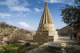 Lalish Capital of the Kurdish Sect of the Yazidis in Kurdistan, Iraq Photographic Print by Michael Runkel