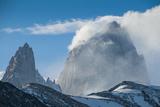 Mount Fitzroy, UNESCO World Heritage Site El Chalten, Argentina, South America Photographic Print by Michael Runkel