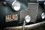 Close-Up of an Antique Car, Dwight, Illinois Route 66 Photographic Print by Julien McRoberts