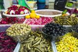 Kurdish Food in the Bazaar of Sulaymaniyah. Kurdistan, Iraq Photographic Print by Michael Runkel
