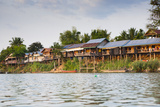 The Island of Don Det Is an Upcoming Backpacker Stop Along the Cambodia and Laos Border Photographic Print by Micah Wright