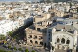 Municipal Theatre, Avenue Habib Bourguiba, Tunis, Tunisia, North Africa Photographic Print by Nico Tondini