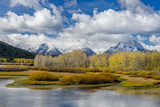 Wyoming, Grand Teton National Park. Landscape of Water, Forest and Mountains Photographic Print by Jaynes Gallery