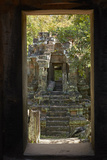 North Khleang Temple, Angkor Thom, Angkor World Heritage Site, Siem Reap, Cambodia Photographic Print by David Wall