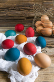 Colorful Easter Eggs Photographic Print by Nico Tondini