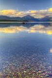 Montana, Glacier National Park. Lake Macdonald Landscape Photographic Print by Jaynes Gallery
