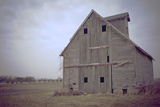 Abandoned Wooden Barn, Joliet, Illinois Route 66 Photographic Print by Julien McRoberts