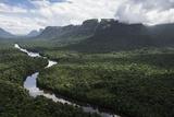 Kaieteur Falls on the Potaro River, Kaieteur Gorge, Kaieteur National Park, Essequibo, Guyana Photographic Print by Pete Oxford
