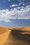 Africa, Morocco, Sahara. a Classic Landscape of the Dunes in Erg Chebbi Photographic Print by Brenda Tharp