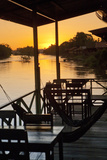 Don Det Is Part of the 4,000 Islands, the Stunning Region at the Southern Tip of Laos Photographic Print by Micah Wright