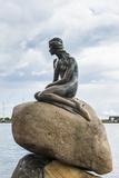 Little Mermaid Statue, Copenhagen, Denmark Fotografisk trykk av Michael Runkel