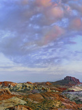 Colorful Landscape of Rainbow Vista, Valley of Fire State Park, Nevada, Usa Photographic Print by Tim Fitzharris