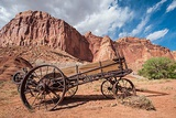 Old Wagon, Fruita, Capitol Reef National Park, Utah Photographic Print by Michael DeFreitas