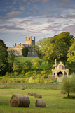 Crom Castle-Ancestral Home to Lord Erne and Crichton Family, County Fermanagh, Northern Ireland, Uk Photographic Print by Brian Jannsen