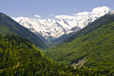 Mountain Scenery of Svanetia, Georgia Photographic Print by Michael Runkel