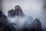 China, Yellow Mountains, Evening Light on the Yellow Mountains Photographic Print by Terry Eggers