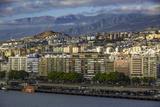 Early Morning Sunlight over Santa Cruz De Tenerife, Canary Islands, Spain Photographic Print by Brian Jannsen