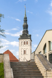 Church of St. Nikolas, Tallinn, Estonia, Baltic States Photographic Print by Nico Tondini