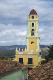 Cuba, Trinidad. the Bell Tower of Iglesia Y Convento De San Francisco Photographic Print by Brenda Tharp
