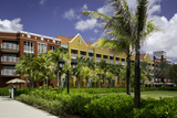 Colorful Apartment Building in Willemstad, Curacao, West Indies Photographic Print by Brian Jannsen