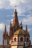 Mexico, San Miguel De Allende. Cathedral of San Miguel Archangel Photographic Print by Brenda Tharp