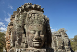 Faces Thought to Depict Bodhisattva Avalokiteshvara, Angkor World Heritage Site Photographic Print by David Wall