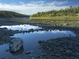 Rocky Shoreline of the Saint John River, New Brunswick Photographic Print by Tim Fitzharris
