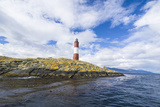 Lighthouse , the Beagle Channel, Ushuaia, Tierra Del Fuego, Argentina, South America Photographic Print by Michael Runkel