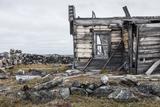 Canada, Nunavut Territory, Abandoned Ruins of Trading Post Along Hudson Bay at Fullerton Harbor Photographic Print by Paul Souders