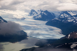 Aerial of Los Glaciares National Park, Argentina, South America Photographic Print by Michael Runkel