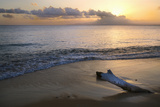 Caribbean, Puerto Rico, Vieques Island. Sunset at Green Beach Photographic Print by Jaynes Gallery