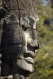 Face Thought to Depict Bodhisattva Avalokiteshvara, Angkor World Heritage Site Photographic Print by David Wall