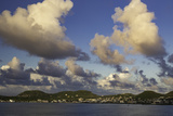 Sunset Over, St. Kitts, West Indies Photographic Print by Brian Jannsen