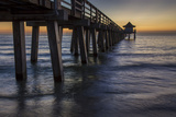 Below the Pier at Twilight, Naples, Florida, Usa Photographic Print by Brian Jannsen