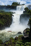 Unesco World Heritage Site, Iguazu Waterfall, Argentina, South America Photographic Print by Michael Runkel