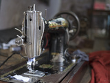 Sewing Machine in Amritsar, Punjab, India Photographic Print by David H. Wells