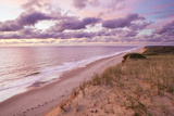 Sunrise View from the Marconi Station Site , Wellfleet, Massachusetts Photographic Print by Jerry and Marcy Monkman