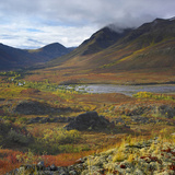 Tombstone Range and North Klondike River, Tombstone Territorial Park, Yukon Territory, Canada Photographic Print by Tim Fitzharris