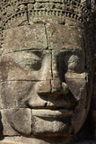 Face Thought to Depict Bodhisattva Avalokiteshvara, Angkor World Heritage Site Photographic Print by David Wall