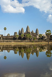 Angkor Wat Temple Complex, Angkor World Heritage Site, Siem Reap, Cambodia Photographic Print by David Wall