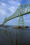 Oregon, Astoria, Astoria-Megler Bridge Photographic Print by Rick A. Brown
